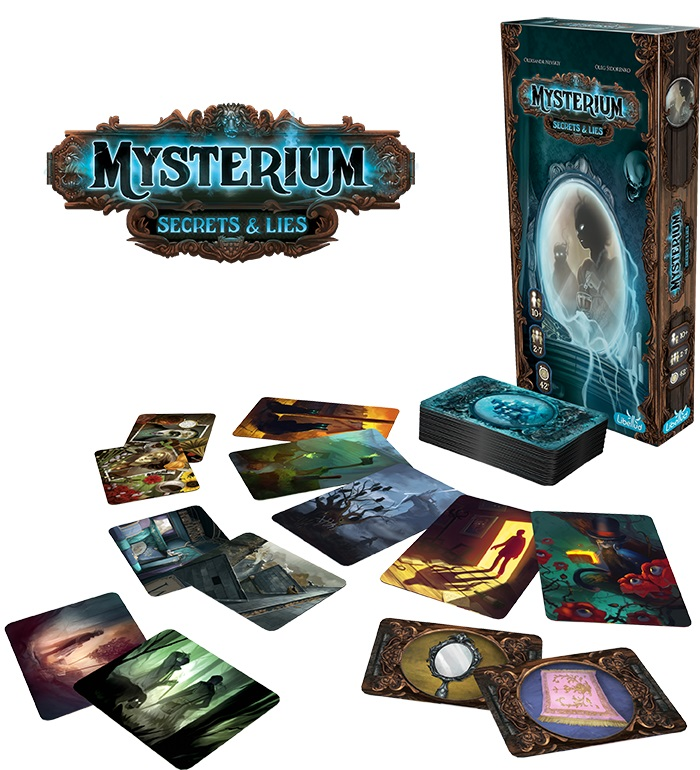 Best Detective Board Games mysterium secrets lies