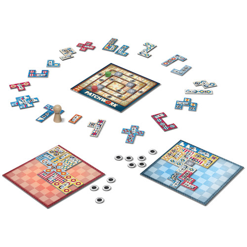 patchwork game review americana overview