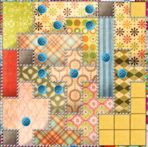 patchwork game review digital edition finished quilt