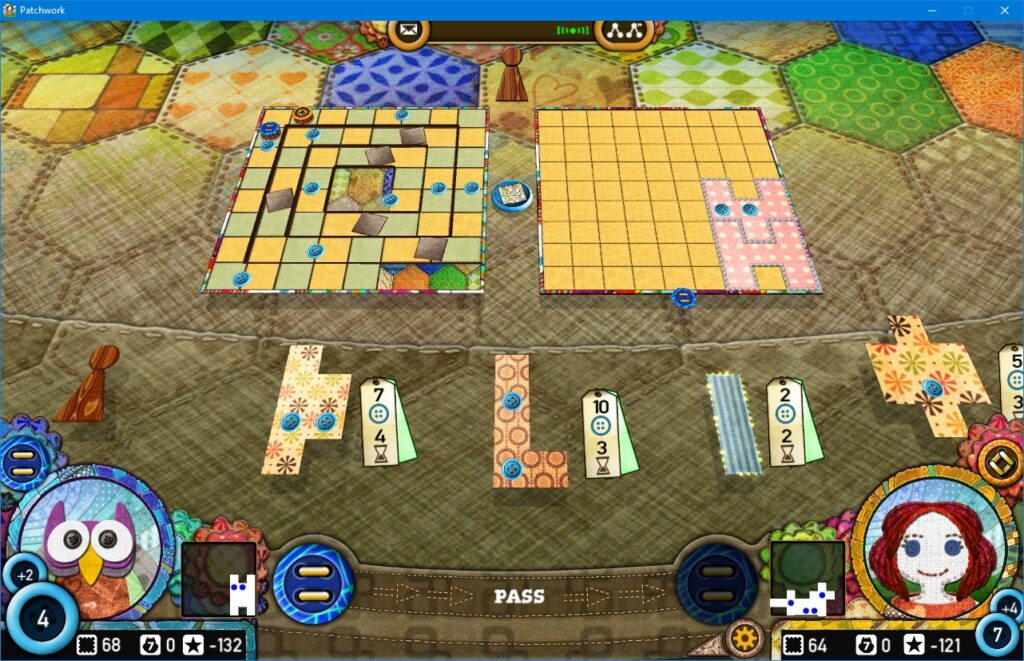 patchwork game review digital edition gameplay