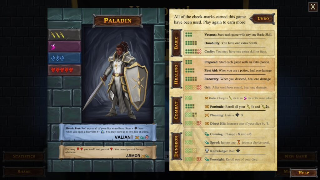 one deck dungeon review paladin