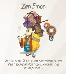 tokaido board game review zen emon