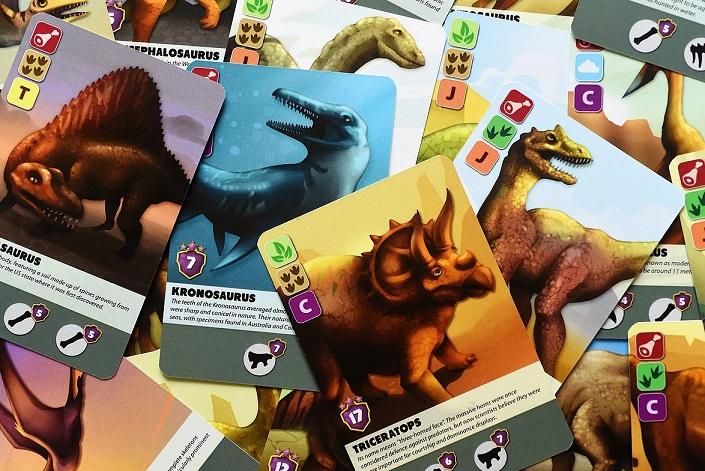 best dinosaur board games fossilis dinosaur cards