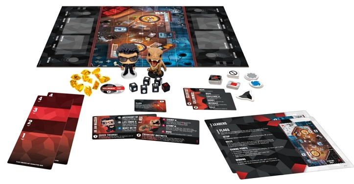 best dinosaur board games funkoverse jurassic park 2 character set