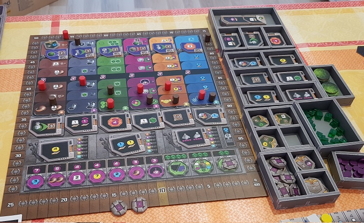 gaia project board game review tech track and components