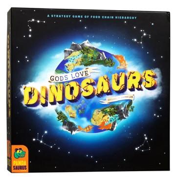 best dinosaur board games gods love dinosaurs box