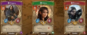 The Lord of the Rings Adventure Card Game Review heroes