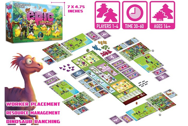 best dinosaur board games tiny epic dinosaurs board overview