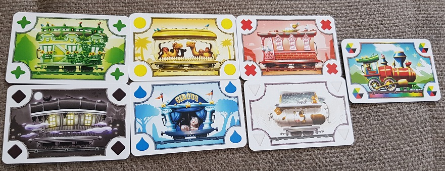 Ticket to Ride First Journey Europe Review cards