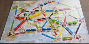 Ticket to Ride First Journey Europe Review map
