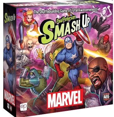best marvel board games marvel smash up box