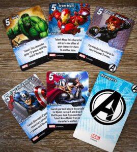 best marvel board games marvel smash up cards