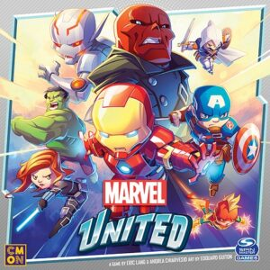 best marvel board games marvel united box