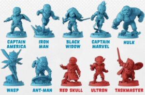 best marvel board games marvel united miniatures