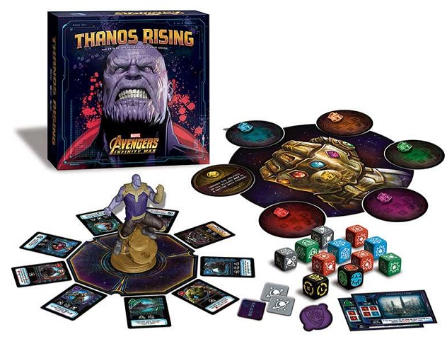 best marvel board games thanos rising components