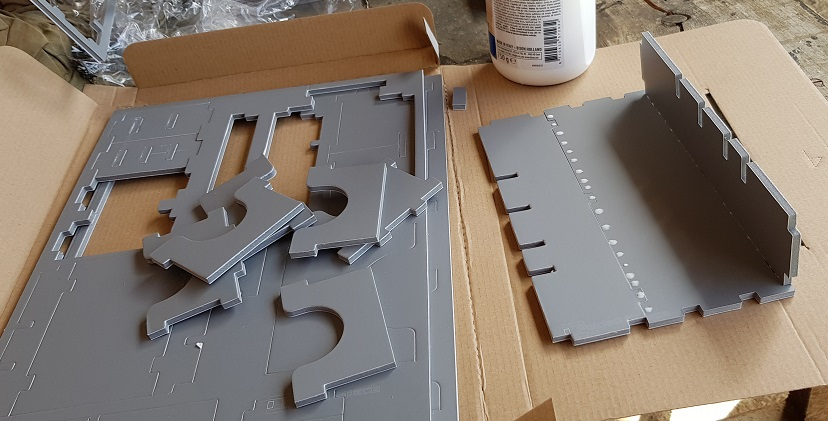 folded space inserts review assembly