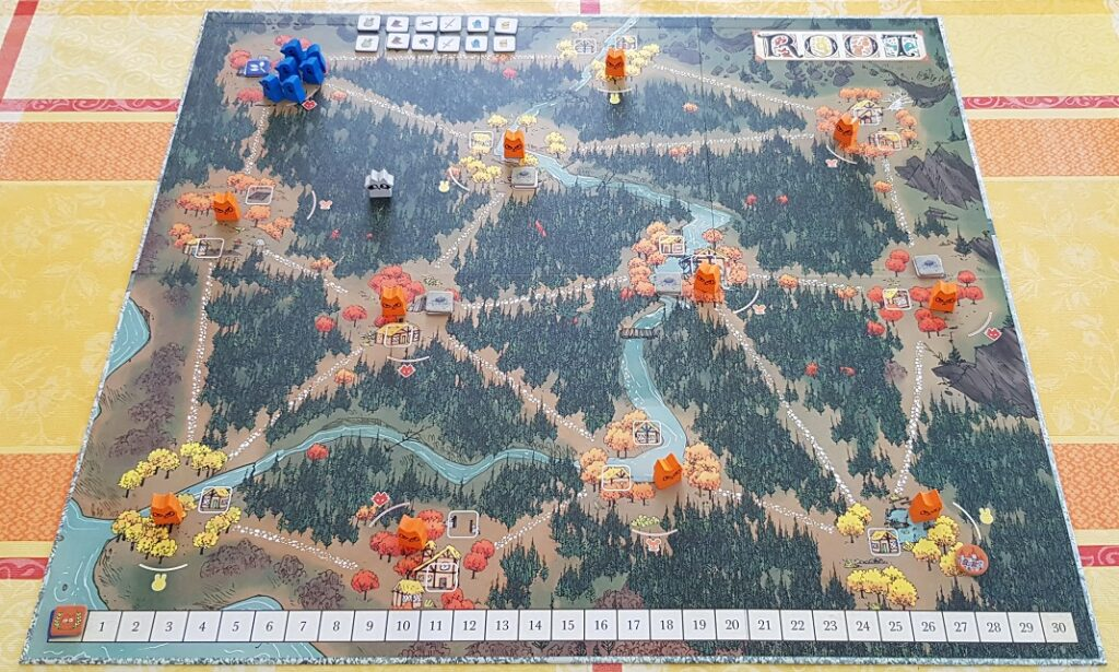 root board game review board overview