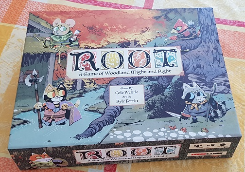 root board game review box