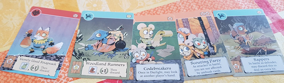root board game review cards