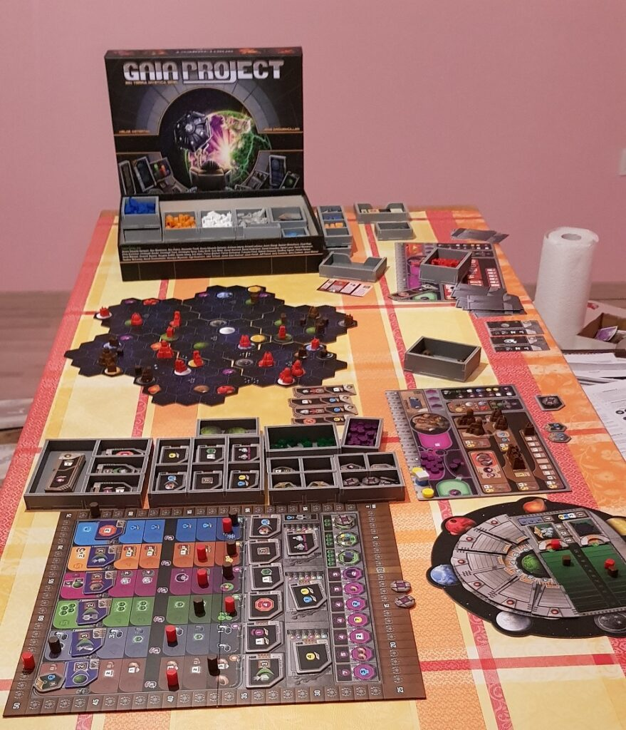 Why are Board Games Bad Gaia Project