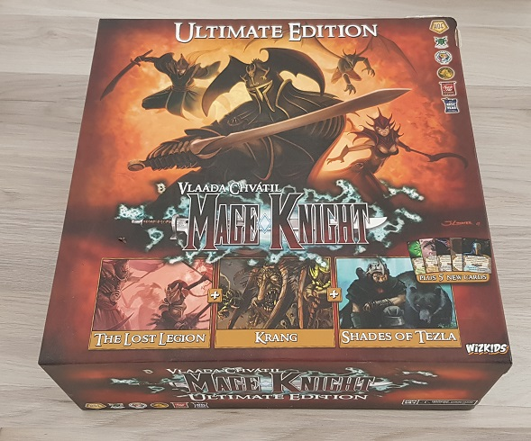 How To Price Used Board Games Mage Knight Ultimate Edition