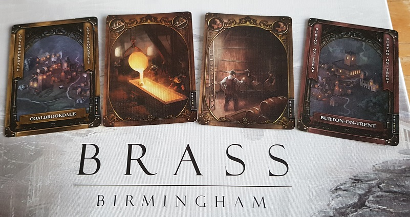 How Good Is Brass Birmingham Board Game Review Cards and Title