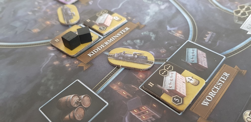 How Good Is Brass Birmingham Board Game Review Coal Mine and Railroad