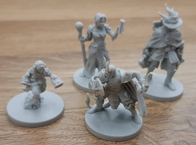 How To Pimp A Board Game unpainted minis
